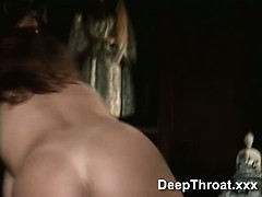 Gorgeous Sindy blowing and...