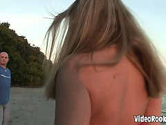 Recording showing horny babes