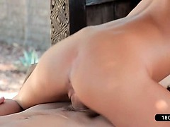 Cock Slides Slowly Into...